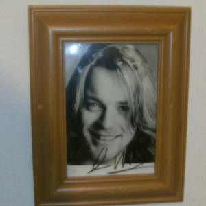 Ewan McGregor Long haired signed framed Autograph from 1990's